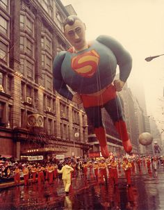 Vintage 1966, Superman, Macy's Thanksgiving Day Parade, NYC, www.RevWill.com