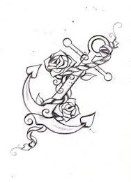 girly anchor tattoos - Google Search