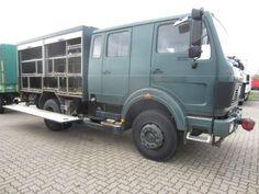 Mercedes-Benz 1017 AF 4x4 Doka/Seilwinde 5t, Vrachtwagen Gesloten opbouw in Achim, gebruikt kopen bij AutoScout24 Trucks