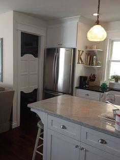 White Kitchen Pantry Doors Swinging Cafe Doors