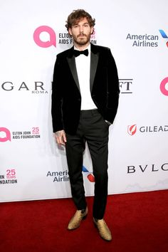 Best-dressed men of the week, from Harry Styles to Andrew Scott Swedish Clogs, Snakeskin Boots, Best Dressed Man, Cut Up, Gq Magazine, Patent Shoes, Hugh Jackman, Black Tie, Justin Bieber