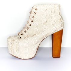 Jeffrey Campbell Has Created A Wedding Shoe Collection (For The 'Edgy' Bride..)