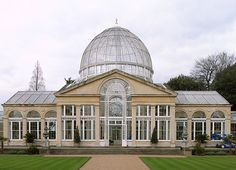 The Great Conservatory (1827-30) at Syon House by Charles Fowler