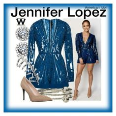 """jlo vibes"" by iconsoffashion ❤ liked on Polyvore"