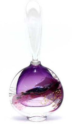 Modern Art Glass Perfume Bottle