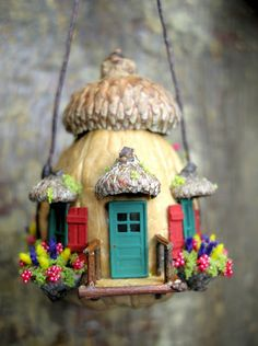 """Nutshell House"" ~ paradis express: miniatures                                                                                                                                                                                 Plus"