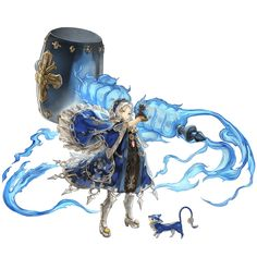 Merina from Another Eden: The Cat Beyond Time and Space Fantasy Character Design, Character Drawing, Character Design Inspiration, Game Character, Character Concept, Dnd Characters, Fantasy Characters, Anime Fantasy, Character Design References