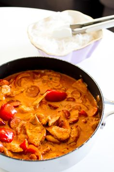 2 vitlöksklyftor 500 ml Santa Maria Creamy coconut Paleo Recipes, Indian Food Recipes, Asian Recipes, Ethnic Recipes, Paleo Food, Swedish Recipes, Food Inspiration, Love Food, Chicken Recipes