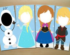 photo booth props frozen