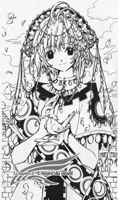 Sakura | Tsubasa Reservoir Chronicle #illustration #anime #manga