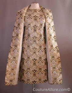Dress and coat made in Hong Kong by Imperial.