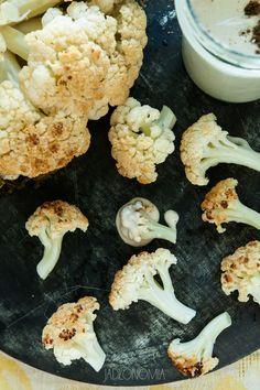 jadłonomia · roślinne przepisy: Pieczony kalafior