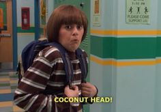 Ned's Declassified School Survival Guide - I miss this show, haha for real! Coconut Head, Pinturas Disney, Drama, I Love To Laugh, 90s Kids, Old Tv, Survival Guide, Attack On Titan, Movies And Tv Shows