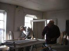 Building new window sashes