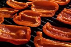 Yum! Check out this easy recipe for Balsamic Grilled Peppers