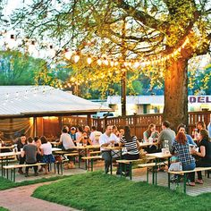 Thrift and Shout: My Guide to Exploring Nashville in 3 Days; Pharmacy Burger and Beer Garden