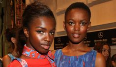 Gorgeous Gals! Pre-show snapshots. Spring 2014 Runway