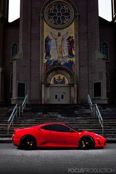 Ferrari F430 Scuderia.    I'll take the red devil, please.
