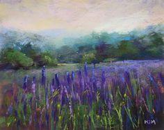 Painting My World: Smoky Mountain Morning Pastel Painting