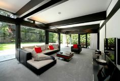 A superb home built by Huf Haus set over two floors with a tremendous feeling of space and light situated within the Wentworth Estate between the Wentworth Golf Club and the picturesque shopping parade of Virginia Water. #Wentworth #Property www.bartonwyatt.co.uk