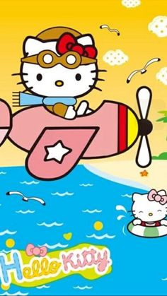 Hello Kitty Backgrounds, Hello Kitty Wallpaper, Baby Friends, Sanrio Characters, Sanrio Hello Kitty, Little Twin Stars, Baby Wearing, Embroidery Patterns, Cute Cats