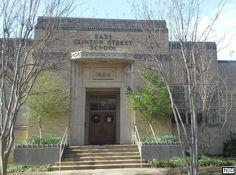 The East Clinton School Building Huntsville, AL Completed in 1938 / Photography By: Nicole Jones Development