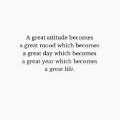 Great life