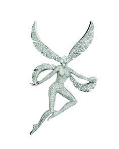 Van Cleef & Arpels - Mélusine fairy clip