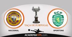 Taça de Portugal: O Nacional recebe esta quinta-feira no estádio da Madeira o Sporting na primeira mão das meias-finais da taça de Portugal. http://academiadetips.com/equipa/taca-de-portugal-nacional-vs-sporting/