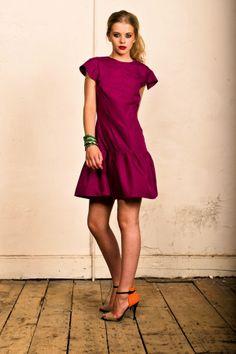 Carnet de Mode Dress - Cordelia - Fuchsia on shopstyle.com