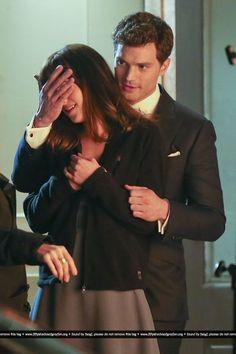 Fifty Shades of Grey - On Set - January 16 - Jamie Dornan Photo (36479477) - Fanpop