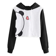Damen Mode Kapuzen Kapuzenpullover Shirtkleid Animal Print Partykleid Hooded Neu