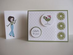 Limey Cheers to You with Tess by willsygirl - Cards and Paper Crafts at Splitcoaststampers