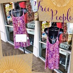 Free People Sundress! Size M!  - Oh so adorable Free People Sundress! New with tags! Org retail $98, SP-$32 #freepeople #soadorable #WorkorPlay #getinmycloset #shop #posh #consignment #boutique