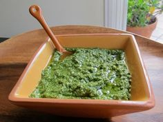 How to Make Fresh Italian Basil Pesto - Learn the origins of healthy Italian basil pesto sauce. Includes two recipes for pesto, traditional and dairy-free. Kosher for Passover, Pareve. via @toriavey #learnitalianforfree #howtolearnitalian