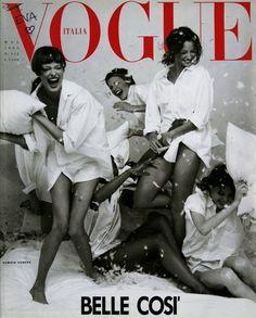 "Обложки журнала ""Vogue"": с 00`s по 90`s / фото 2013"