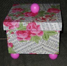Mod Podged box