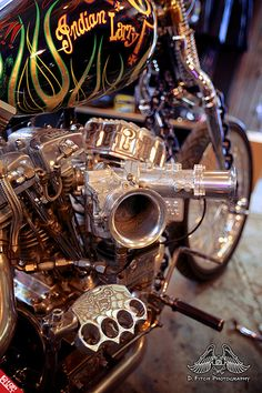 Inside Indian Larry Motorcycles