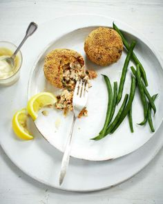 Bill Granger recipe: Herby salmon fishcakes in polenta crumb - Recipes - Food & Drink - The Independent