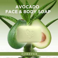 Forever Avocado Face and Body Soap. www.lifestyle16.flp.com