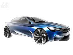 BMW Concept Sketch