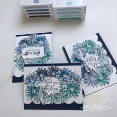 Rainbow Project, Color Contour, Card Tutorials, Coordinating Colors, Stamping Up, Flower Cards, Greeting Cards Handmade, Diy Cards, Stampin Up Cards