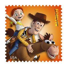 Forever Stamp Your Love of Disney Pixar