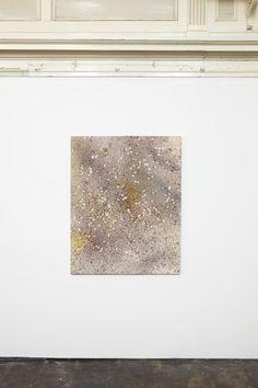 Sam Falls, Untitled (Apple blossom petal 6, Sarvisalo, Finland), 2014, installation view at Zabludowicz Collection, London, 2014. Photo: Stu...