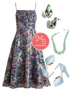 """Midnight of My Life Dress"" by modcloth ❤ liked on Polyvore"