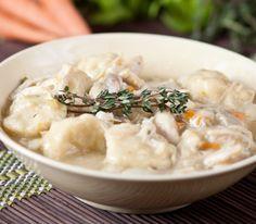 Slow Cooker Chicken and Dumplings - Best Comfort Food!  Delicious!  - www.GetCrocked.com