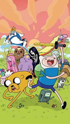 1080p Adventure Time Phone Wallpaper
