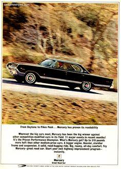 1963 mercury marauder fastback mercury pinterest mercury 1963 Marauder Wiring Help Ford Muscle Forums 1964 mercury park lane marauder from daytona to pikes peak original ad