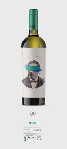 Lable Package Bottle Design The idealist - Anonymous wine Sauvignon Blanc, Cabernet Sauvignon, Wine Bottle Design, Wine Label Design, Wine Bottle Labels, Wine Bottles, Chenin Blanc, Wine Advertising, Wine Making Kits