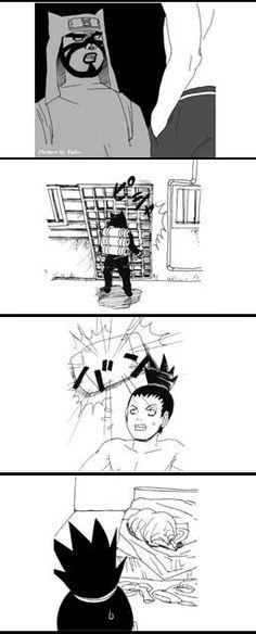 Shikamaru and Temari fan comic. Page 7.